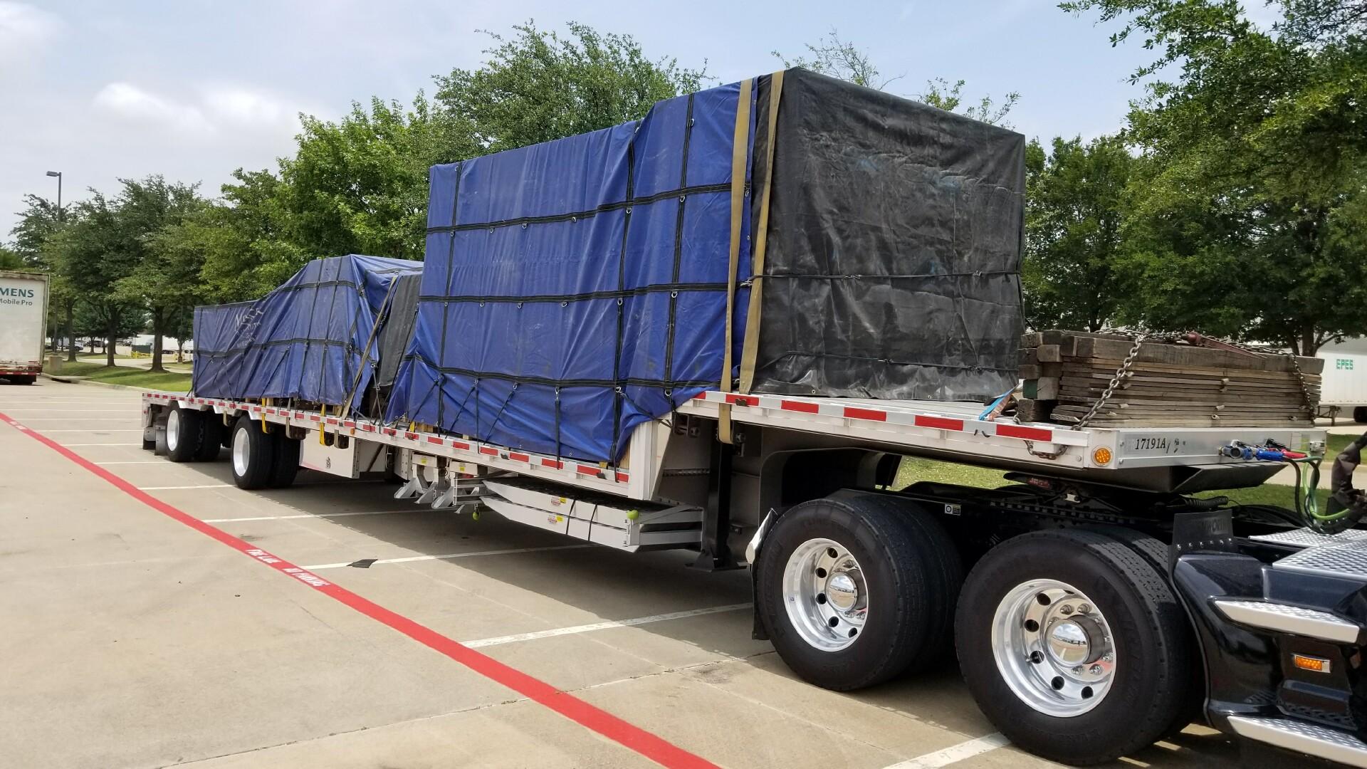 tarp loading